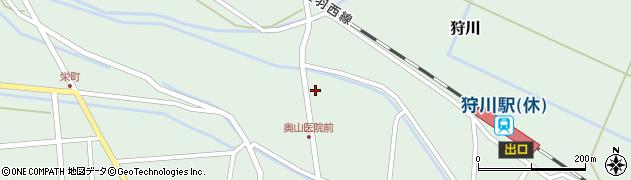 山形県東田川郡庄内町狩川小野里123周辺の地図