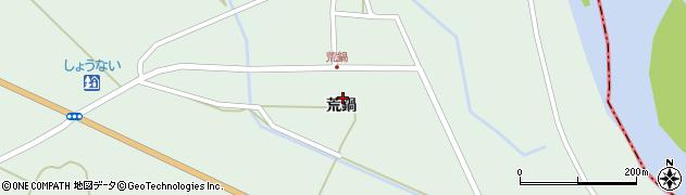 山形県東田川郡庄内町狩川荒鍋19周辺の地図