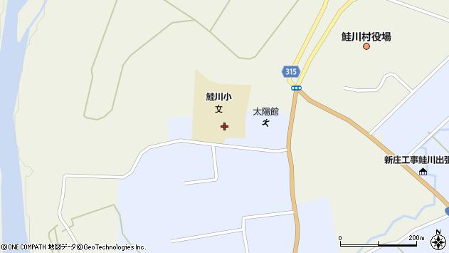 山形県最上郡鮭川村佐渡2000周辺の地図