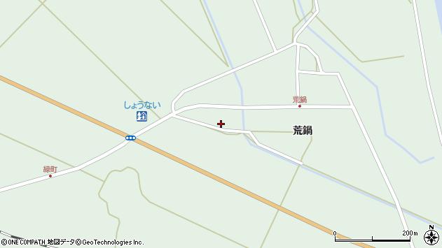 山形県東田川郡庄内町狩川荒鍋34周辺の地図