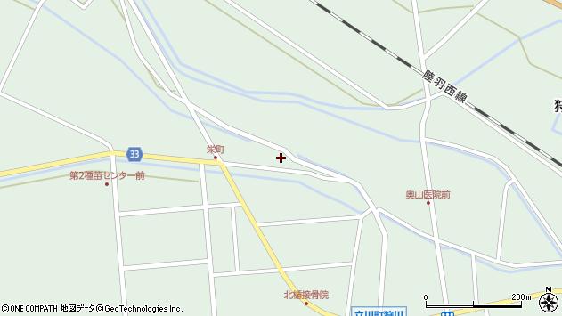 山形県東田川郡庄内町狩川小縄2周辺の地図