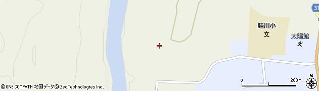 山形県最上郡鮭川村佐渡鵜頭坂周辺の地図