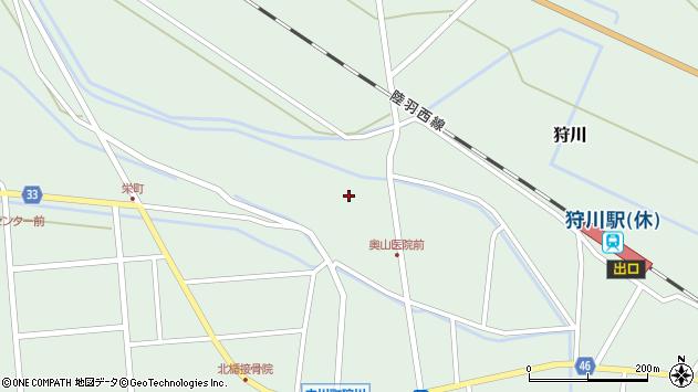 山形県東田川郡庄内町狩川薬師堂西45周辺の地図
