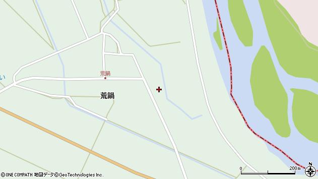 山形県東田川郡庄内町狩川荒鍋7周辺の地図