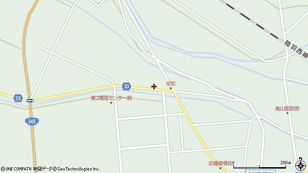 山形県東田川郡庄内町狩川小縄8周辺の地図