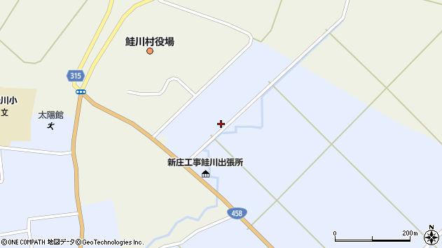 山形県最上郡鮭川村川口3024周辺の地図