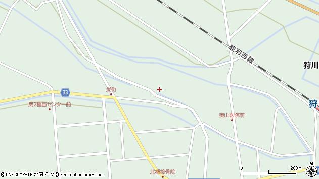 山形県東田川郡庄内町狩川小縄1周辺の地図