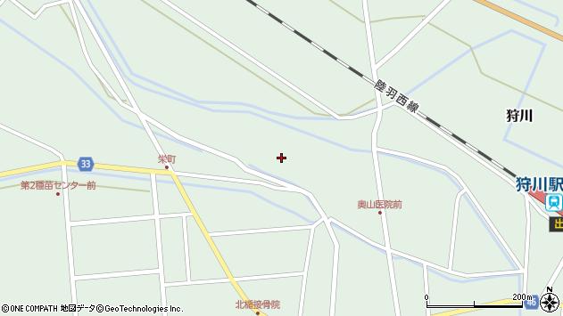 山形県東田川郡庄内町狩川薬師堂西97周辺の地図