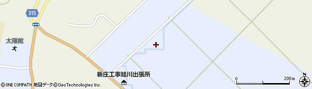 山形県最上郡鮭川村川口3010周辺の地図