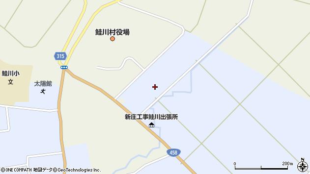 山形県最上郡鮭川村川口3021周辺の地図