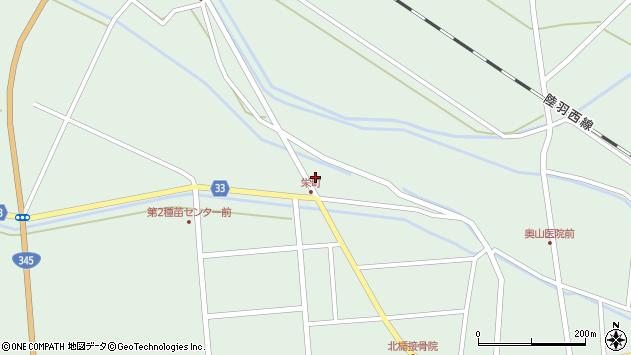 山形県東田川郡庄内町狩川小縄3周辺の地図