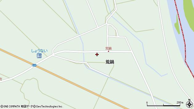 山形県東田川郡庄内町狩川荒鍋26周辺の地図