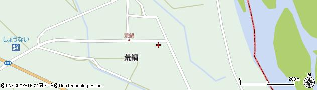 山形県東田川郡庄内町狩川荒鍋12周辺の地図
