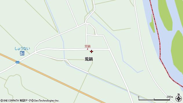 山形県東田川郡庄内町狩川荒鍋18周辺の地図