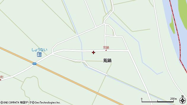 山形県東田川郡庄内町狩川荒鍋27周辺の地図