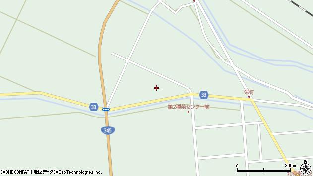 山形県東田川郡庄内町狩川小縄23周辺の地図