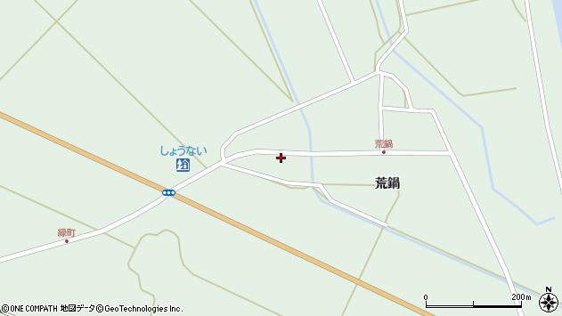 山形県東田川郡庄内町狩川荒鍋36周辺の地図