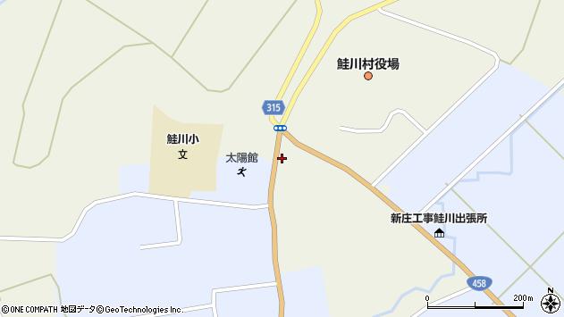 山形県最上郡鮭川村佐渡827周辺の地図