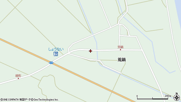 山形県東田川郡庄内町狩川荒鍋33周辺の地図