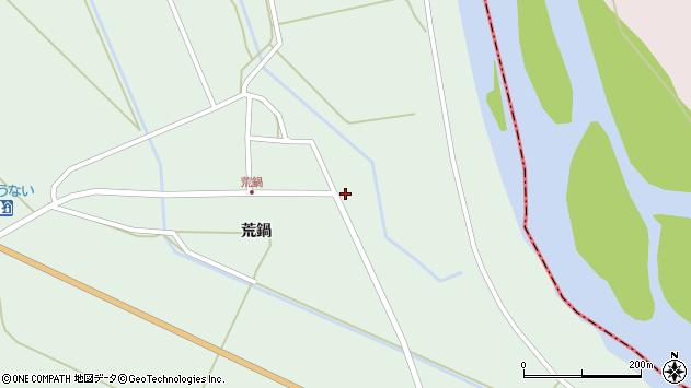 山形県東田川郡庄内町狩川荒鍋10周辺の地図