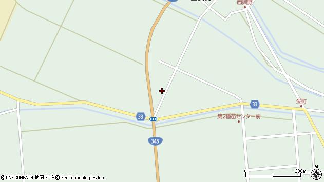 山形県東田川郡庄内町狩川相見1周辺の地図