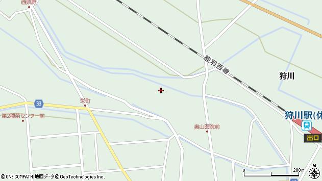 山形県東田川郡庄内町狩川薬師堂西84周辺の地図