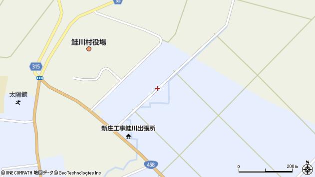 山形県最上郡鮭川村佐渡3175周辺の地図