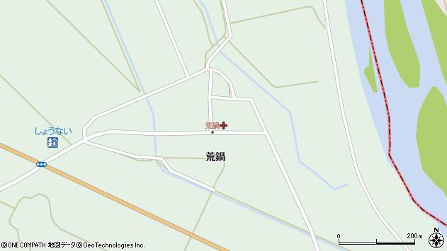 山形県東田川郡庄内町狩川荒鍋50周辺の地図