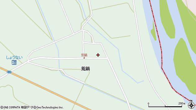 山形県東田川郡庄内町狩川荒鍋55周辺の地図
