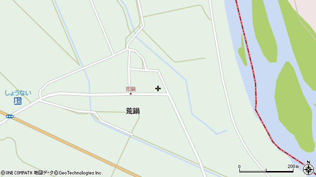 山形県東田川郡庄内町狩川荒鍋56周辺の地図