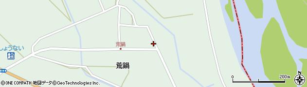 山形県東田川郡庄内町狩川荒鍋58周辺の地図
