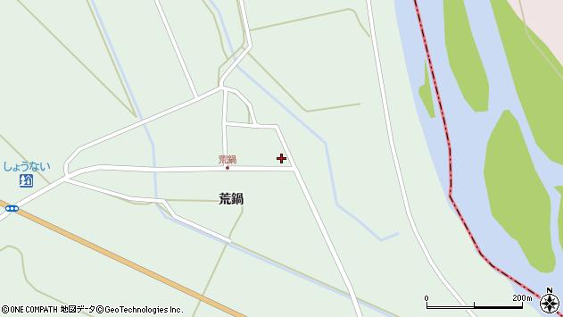 山形県東田川郡庄内町狩川荒鍋57周辺の地図