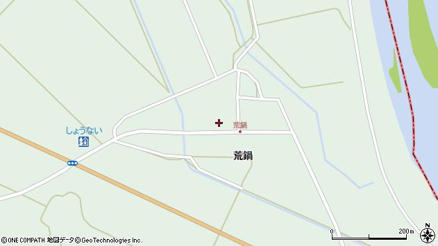 山形県東田川郡庄内町狩川荒鍋45周辺の地図