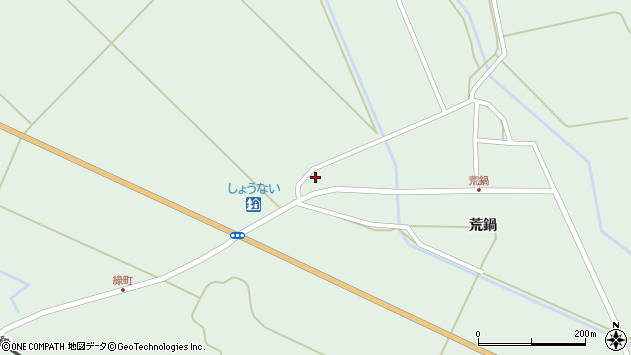 山形県東田川郡庄内町狩川二番割39周辺の地図
