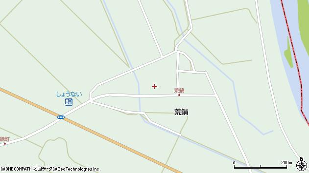 山形県東田川郡庄内町狩川荒鍋44周辺の地図