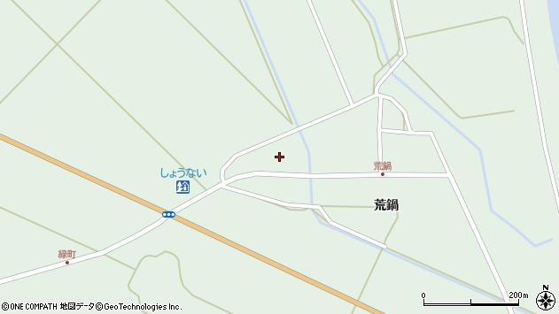 山形県東田川郡庄内町狩川荒鍋37周辺の地図