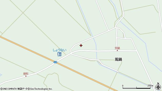 山形県東田川郡庄内町狩川二番割58周辺の地図