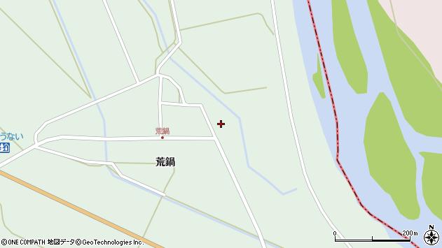 山形県東田川郡庄内町狩川荒鍋59周辺の地図