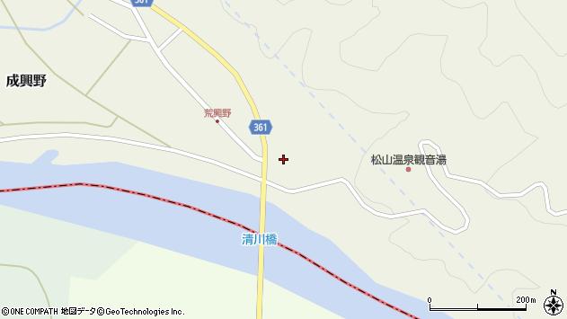山形県酒田市成興野上堰内9周辺の地図