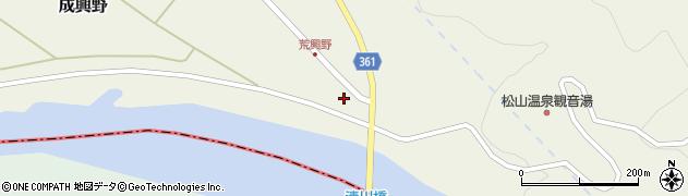 山形県酒田市成興野海道内20周辺の地図