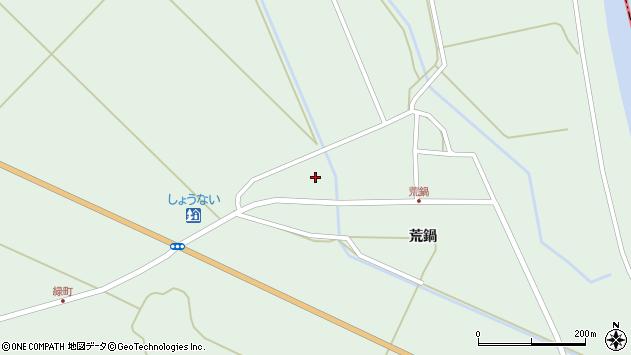 山形県東田川郡庄内町狩川荒鍋39周辺の地図