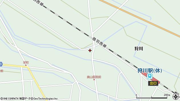 山形県東田川郡庄内町狩川萱積場54周辺の地図