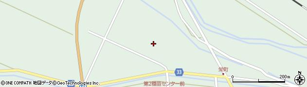 山形県東田川郡庄内町狩川小縄周辺の地図