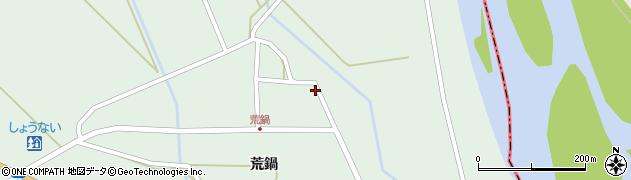 山形県東田川郡庄内町狩川荒鍋62-3周辺の地図