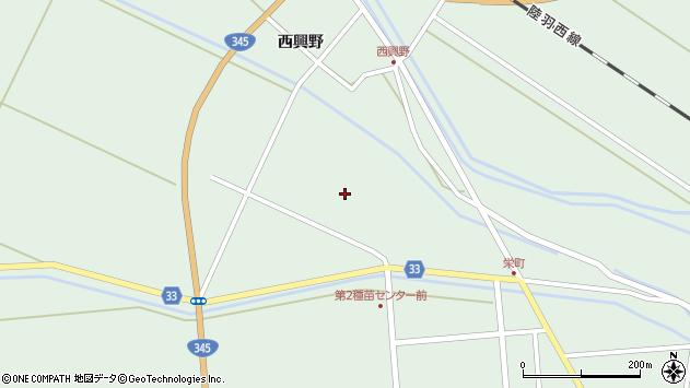 山形県東田川郡庄内町狩川小縄25周辺の地図