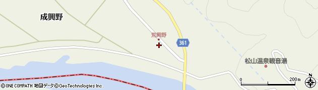 山形県酒田市成興野海道内35周辺の地図