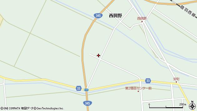 山形県東田川郡庄内町狩川殿田周辺の地図
