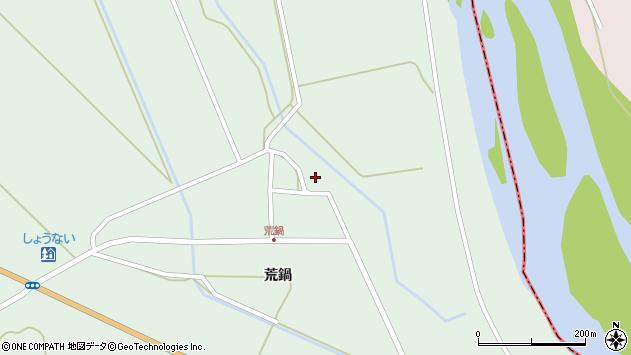 山形県東田川郡庄内町狩川荒鍋63周辺の地図