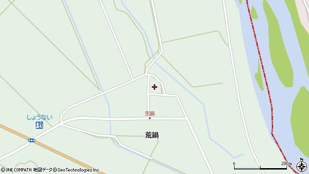 山形県東田川郡庄内町狩川荒鍋70周辺の地図