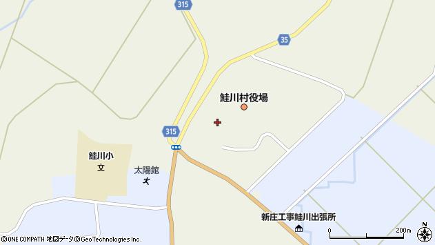 山形県最上郡鮭川村佐渡837周辺の地図
